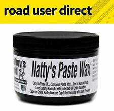 Poorboys Nattys BLACK Paste Car Wax For Black & Darker Cars - Free Delivery