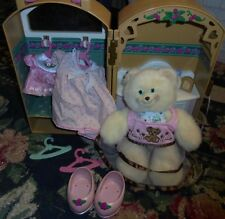 Fisher-Price Briarberry plush teddy bear girls toy stuffed animal accessories
