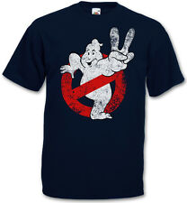 VINTAGE GHOSTBUSTERS II LOGO T-Shirt - The Real GHOSTBUSTERS Movie Slimer Shirt