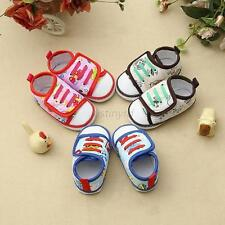 Fashion Kids Toddler Baby Boys Girls Soft Sole Crib Shoes Floral Sneaker 0-18M