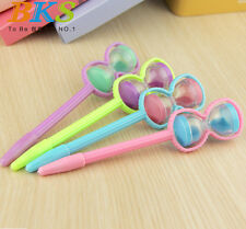 Creative stationery Ball Point Hourglass Gel Ink Pen Gift for students Kids