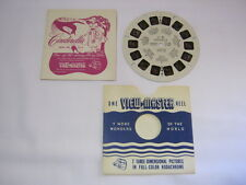 Cinderella Vintage View Master Reel No. FT-5 Fairy Tale w/ Booklet  T*