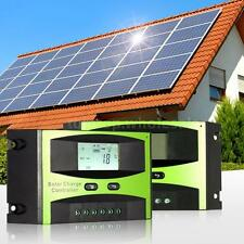 New 10A/15A/20A/25A Solar Charge Controller Battery Regulator 12V/24V PWM Mode