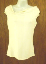 White House / Black Market, Ivory White Top, Attractive, Ruched , Stretchy, Sz S
