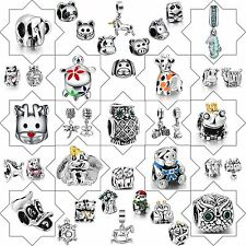 New Hot 2018 Jewelry Charms Animal style Beads For 925 Sterling Silver Bracelet
