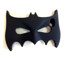 Hot 3D Cute Batman Mask Soft Silicone Phone Case Cover for iPhone Samsung Phones