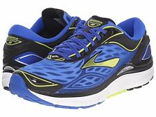 BROOKS TRANSCEND 3 BLUE LIME PUNCH BLACK MENS 2016 RUNNING SHOES ** ALL SIZES