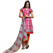 Ready To Wear Cotton Printed Salwar Kameez with Embroidery Dupatta India-Sada-03