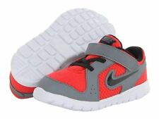 NEW Boy's Toddlers NIKE FLEX EXPERIENCE RUN 599342 Red/Gray Sneakers Shoes