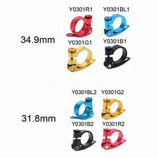 31.8 mm Bicycle Bike Cycle Mountain Seat Post Clamp Quick Release Alloy YC O6L7