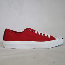 MENS CONVERSE JACK PURCELL RED CASUAL SHOES TRAINERS PLIMSOLLS SIZE UK 7  EUR 41