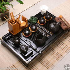 complete tea set real yixing zisha tea set heat insulation pot cups tea tray