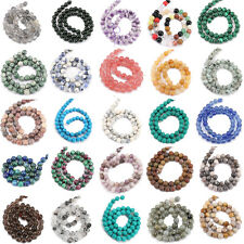 1 Bunch 30Styles Stone Delicate Gemstone Round Spacer String Beads Craft 5 Sizes