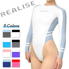 New Realise N-015-p7 long-sleeved high-cut Swimsuit Swimwear Normal Choose color