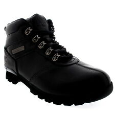 Mens Timberland Splitrock 2 Walking Outdoor Hiker Black Ankle Boots US 7.5-13.5