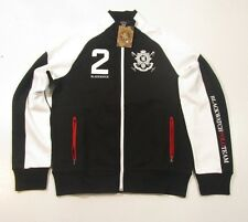 "Polo Ralph Lauren Full Zip Black Watch ""Polo Black"" Black Pieced Track Jacket"