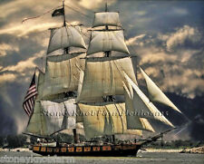 U.S. Sailing Ship ~ Seascapes ~ Counted Cross Stitch Pattern