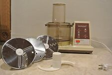Vintage scovill Hamilton beach food processor 709-1 Almond Color