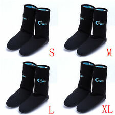 Non Slip Neoprene Fins Socks Dive Diving Boots with Smooth Skin K0423