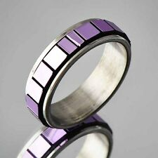 vintage fashion jewelry stainless steel womens mens rings free shipping size 6-9