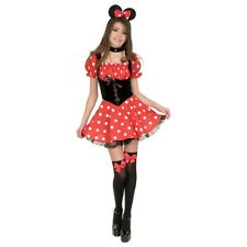 Little Miss Mouse Red Polka Dot Minnie Costume Halloween Fancy Dress