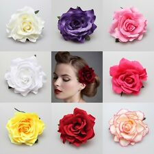 Fashion Rose Flower Brooch Hair Pins Hair Clips Party/Wedding Party Accessories