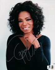 Oprah Winfrey Signed Autographed 8X10 Photo Silver Ink Sexy Close-Up GV787773