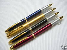 4color JINHAO Fountain Pen FINE free 6pcs cartridges Black(China)