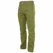 New Levis 501 Shrink To Fit Original Jeans Rigid Olive Mens 501 1437 Button Fly