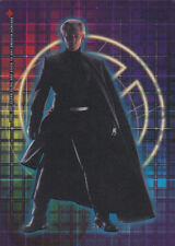 X-MEN THE MOVIE TOPPS 2000 CLEAR CLING CARD CL7 MAGNETO