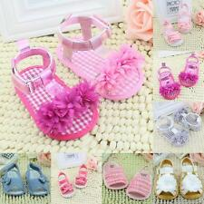 Princess Baby Infant Kids Girl Soft Sole Crib Toddler Summer Sandals Shoes 0-18M