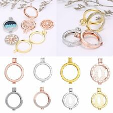 DIY Jewelry My Coin 35mm Pendant  Holder Crystal Locket Pendant Fit Necklace