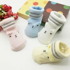 Newest Toddler Infant Baby Boy Girl Soft Anti-slip Sole Socks Newborn Socks 0-6M