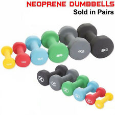 Neoprene Aerobic Dumbbells Hand Weights Home Gym Fitness Exercise Set