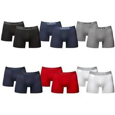 Levis Levi's 4 to 12 Pack Boxer Trunks Boxer Shorts Mid Denim New