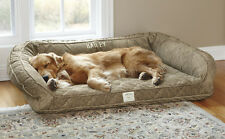 Orvis Deep Dish Dog Bed with Memory Foam SI2C9B