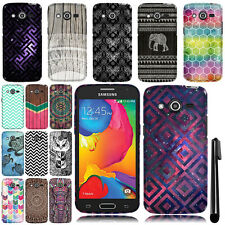 For Samsung Galaxy Avant G386T Cute Design TPU SILICONE Rubber Case Cover + Pen