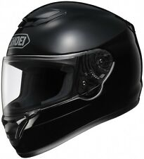 Shoei Qwest Full-Face Street Motorcycle Helmet - Solid Black - Adult 2XS-2XL
