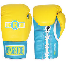 Ringside Boxing Ultimate Pro Fight Gloves - Yellow / Blue