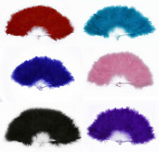 Fancy Dress Feather Fan Burlesqe Show costume party Supplies 12×20 inches