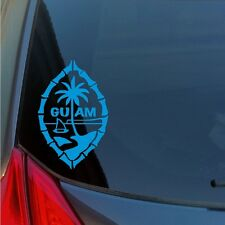 Guam Island vinyl sticker decal Pacific seal islander Marianas WWII USA US Japan
