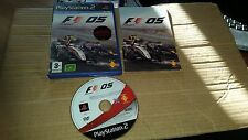 FORMULA ONE 05 SONY PLAYSTATION PS2, PS3 GAME GOOD CON