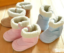 Infant boys girls toddler baby shoes Crib shoes winter snow boots 0-18 months