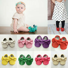 Comfortable Colorful Bow-Knot Baby Shoes Baby Toddler Shoes Soft-Soled Shoes Hot