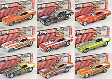 NEW 1/18 Auto World Funnycar Chevrolet, Dodge, Ford Mustang