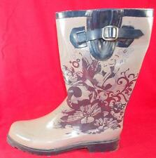 NEW Womens WESTERN CHIEF CLASSIC BLUE SlipOn Waterproof Rubber Rain Shoe/Boots