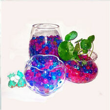New Safe Round Water Plant Flower Decor Crystal Jelly Soil Mud Pearls Gel Beads