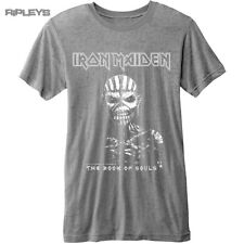 Official T Shirt IRON MAIDEN Vintage Logo  Book Souls Burnout All Sizes