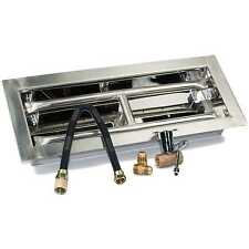"18"", 24"", 30"", 36"", 48"" H-Burner Drop-in Stainless Steel Gas Burner Kit LP"