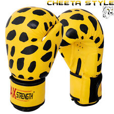 Punch Boxing MMA Gloves Sparring Gym Fight Grappling Training Bag Mitts 10oz